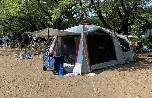 キャンプにはテントが欠かせない!わが家お気に入りのテント-コールマン