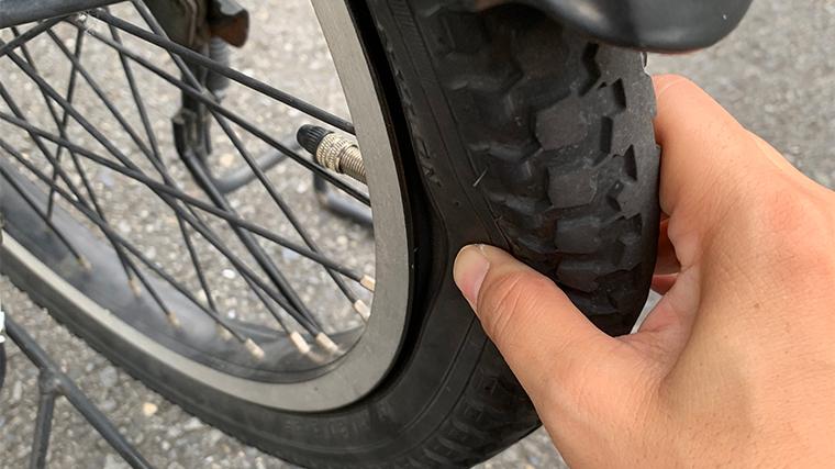 パナソニックの電動自転車 パンクしたタイヤ修理を出張修理に頼んでみた