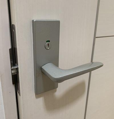 トイレのドアノブ