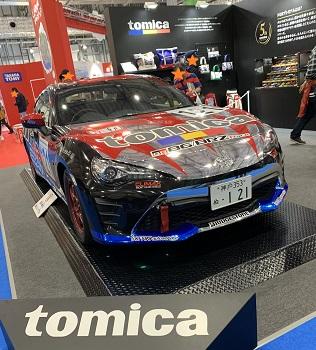 東京モーターショー2019トミカ仕様になったスポーツカー
