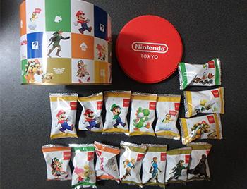 任天堂東京オリジナルチョコクランチ缶(個包装にキャラ柄)が可愛い!