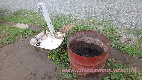 緑の休暇村青根キャンプ場のオートキャンプ場の写真(神奈川県)足洗い場