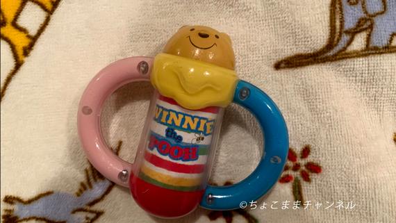 0歳に買ってよかったおもちゃ くまのプーさんのポロロンチャイム(タカラトミー)